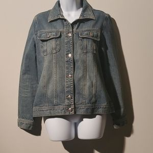 Old Navy Womens Jean Jacket Size M